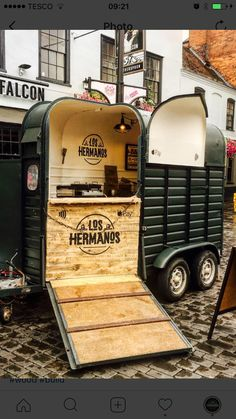 Food trailer horse box