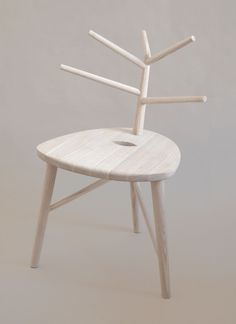 Ashes to Ashes Chair by Johanna Mattsson
