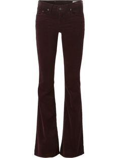 RAG & BONE Corduroy Flared Trousers. #ragbone #cloth #trousers
