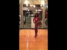 Figure Competition Training: Kimberly Posing 2 Weeks Out