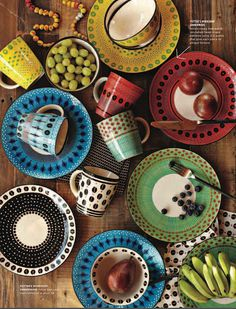in love with these dishes from the new @west elm South African design collection