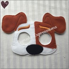 A personal favorite from my Etsy shop https://www.etsy.com/listing/453441290/dress-up-play-mask-terrier-kids-costume