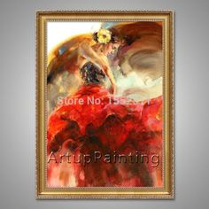 Spanish Flamenco Dancer painting latina woman Oil painting on canvas hight Quality Hand-painted Painting latina 15 Owls Kindergarten, Office Pictures, Owl Nursery, Flamenco Dancers, Cheap Paintings, Oil Painting On Canvas, Latina, Hand Painted, Anna Razumovskaya