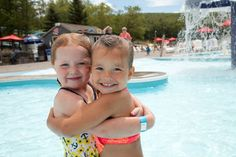 "With slides, wave pools, and lazy rivers Montage Mountain Resorts offers a day ""at the beach"" without the messy sand!"