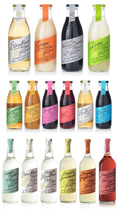 Love these bottle designs! Found by @tinaw & @loganledford. #Drinks #Packaging #Labels