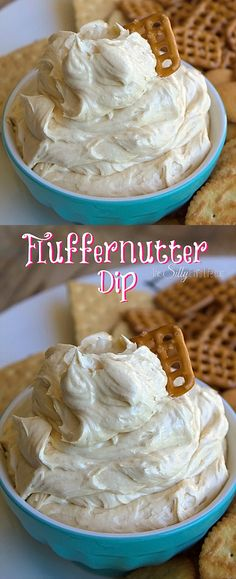 Fluffernutter Dip, the classic sandwich turned into a decadent, creamy dip!