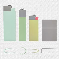 ◻️◽️▫️LIGHTERS #lighters#fire#smoke#smoking#clipper#bic#zippo#pastel#colors#vector#infographic#illustration#flatdesign#illustrator#graphic#design#booooh#follow#followme#instafollow#like4like#igers#picoftheday#instacool#instamood