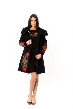 "Демісезонне пальто ""Букет маків"" Dresses, Fashion, Vestidos, Moda, Fashion Styles, Dress, Fashion Illustrations, Gown, Outfits"