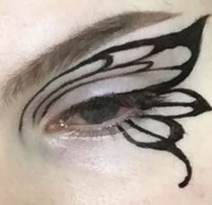Punk Makeup, Dope Makeup, Indie Makeup, Edgy Makeup, Makeup Eye Looks, Eye Makeup Art, Pretty Makeup, Makeup Inspo, Makeup Inspiration