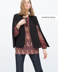#zaradaily #wednesday #woman #jacket #shirt