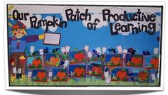 A ton of great ideas for bulletin boards on this website. I love the pumpkin patch idea for October! A ton of great ideas for bulletin boards on this website. I love the pumpkin patch idea for October! October Bulletin Boards, Bulletin Board Paper, Halloween Bulletin Boards, Birthday Bulletin Boards, Bulletin Board Display, Classroom Bulletin Boards, Classroom Ideas, Reading Homework, Reading Incentives