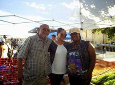 MrJ and I with Yadi Rivera - Monster Car and Bike Fest. - Rancho Cucamonga, CA