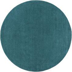 Surya M5330 Mystique Blue, Green Round Area Rug