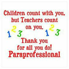 [ Thank You Cards Special Education Paraprofessional Note Letter Teacher Given Here For The Purpose ] - Best Free Home Design Idea & Inspiration Staff Appreciation Gifts, Appreciation Quotes, Love Teacher, Teacher Notes, Teacher Gifts, Special Education Behavior, Educational Assistant, Teacher Assistant, Teaching