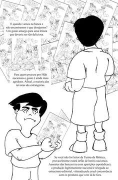 """(TCC) Quadrinhos Nacionais: Uma Perspectiva Estrangeira (UNIVAP), """"preview"""" de Carlos Campos PG04"""