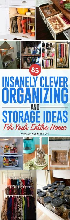 How do you organize all those bits and bobs you have lying around the house?  There's always the option of buying a thousand plastic storage totes, but maybe you don't have to.  Maybe you already have what you need right at home.  In fact, some of the dis