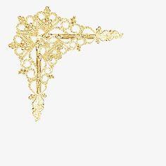 Premier Golden Corners, Esquinas, Golden, Frame Imagen PNG