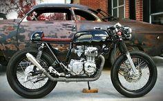 Honda CB 350F Cafe Racer