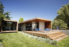 sloping block rear extension - Google Search