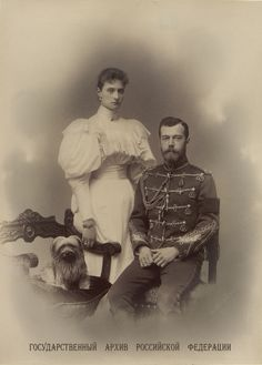 "imperial-russia: """"Series of formal photographs of newly married Tsar Nicholas II and Alexandra Fyodorovna (x) "" "" Vintage Photographs, Vintage Photos, Tsar Nicolas, Romanov Sisters, Familia Romanov, Royal Photography, English Royal Family, House Of Romanov, Royal Monarchy"