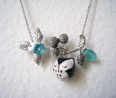 sweet owl necklace