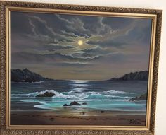 SOLD. Tranquility Cove. Oil on canvas £590.00