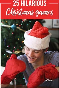 Christmas Games For Family, Fun Christmas Party Games, Xmas Games, Printable Christmas Games, Holiday Games, Holiday Parties, Christmas Fun, Minute To Win It Games Christmas, Christmas Activities For Families
