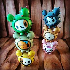 Tokidoki cactus pups - Photography: Marianne Roosa / Instagram: @Miss Oneyes