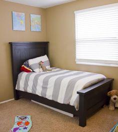 diy Twin farmhouse beds for the boys