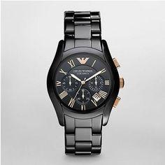 Emporio Armani Watch AR1410 Mens Ceramic Chronograph,This watch is very fashion, I like it too.