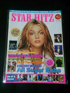 Star Hitz Co E, Pin Up Posters, Phone Messages, Fan Page, Britney Spears, Magazine Covers, Gossip, Sexy Men, Books