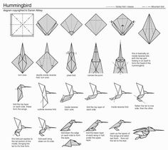116 Best Origami Birds Images On Pinterest