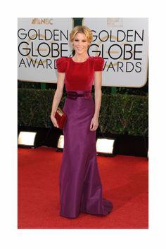 Julie Bowen, la más #trendy en los Globos de Oro 2014