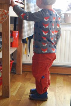 Hosen Upcycling / Trousers upcycled