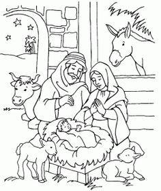 weihnachten krippe | weihnachten | ausmalbilder weihnachten, glasmalerei weihnachten und