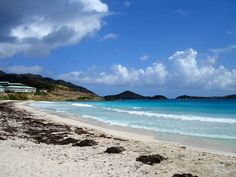 Sint Maarten - Orient Beach... some of the most gorgeous beaches in the Carribean