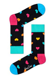 03d4f85e3df Fun Heart Socks for Happy Men   Women at HappySocks.com · Buy Socks OnlineCrazy  ...