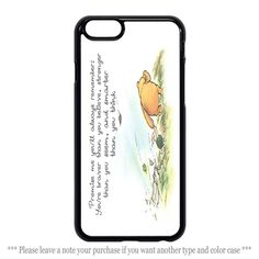 Winnie the Pooh Quote Cases iPhone 4 4s 5 5s 5c 6 6 plus Samsung Galaxy Case #UnbrandedGeneric