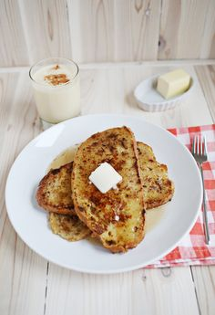 Easy eggnog french toast