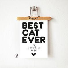 Plakat BEST CAT EVER