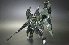 HG 1/144 Gundam Dynames Custom Build - Gundam Kits Collection News and Reviews