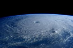 Typhoon Maysak. The view from the space.
