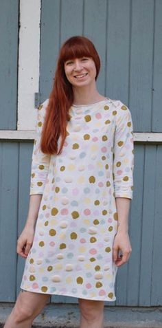 Erin's Romy Top or Dress - Sewing pattern by Tilly and the Buttons