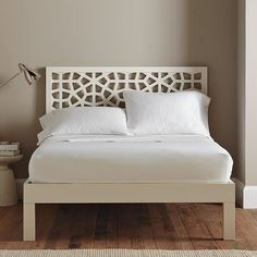 Love this bed frame.