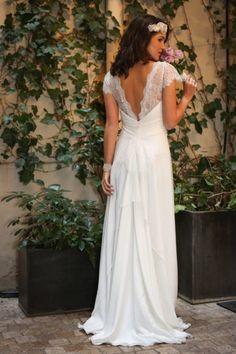 Elsa Gary - Collection 2017 Chic et élégante Magnifiques robes de mariée  Dentelle et décolleté de dos
