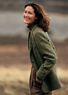 Orvis Women S Castle Island Tweed Plaid Jacket Regular Looks Style, Looks Cool, Style Me, Classic Style, Country Fashion, Country Outfits, Irish Fashion, Country Style, Korean Fashion