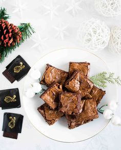 decadent chocolate mint brownies