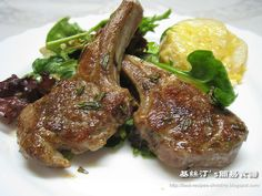 Lamb Cutlets with Baked Potatoes  from Christine�s Recipes