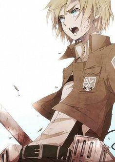 Armin Arlert - Shingeki no Kyojin (Attack on Titan) M Anime, Fanarts Anime, Anime Love, Anime Guys, Anime Characters, Anime Art, Awesome Anime, Anime Stuff, Noragami