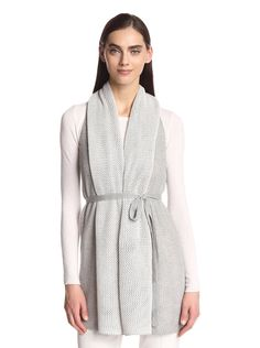 Natori Women's Long Knit Vest at MYHABIT